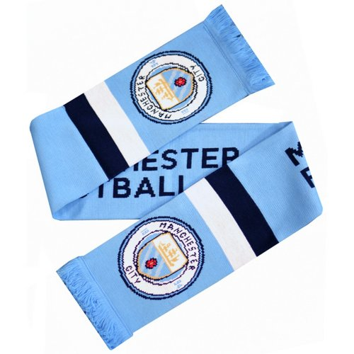 Manchester City Stripe Scarf