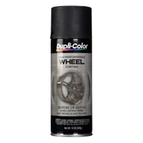 Krylon HWP104 11 oz Dupli Color High Performance Wheel Paint, Black