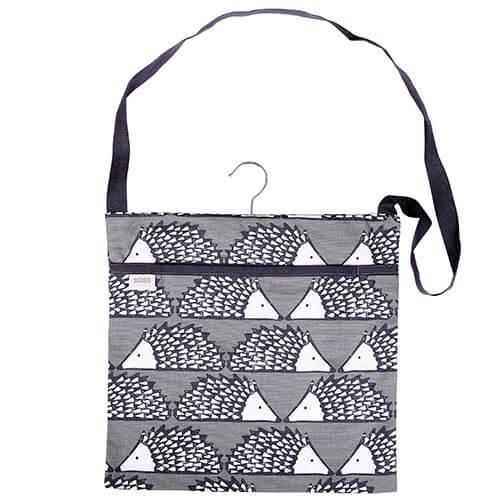 Scion Living Spike The Hedgehog Grey Peg Bag 100% Cotton 30x30x2 cm