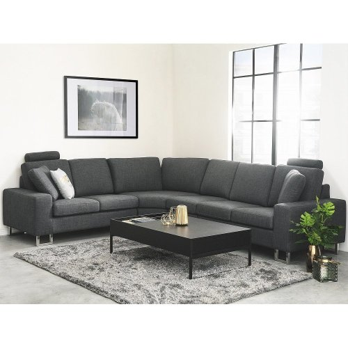 Left or Right Hand Fabric Sectional Sofa - STOCKHOLM