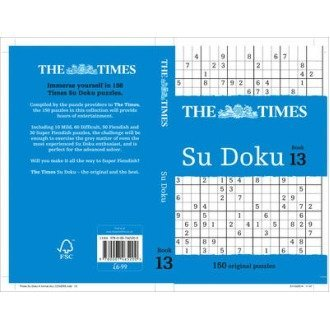 The Times Su Doku Book 13: Book 13