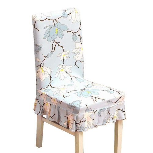 [Flowers-11] Stretch Dining Chair Slipcover Chair Cover Chair Protector