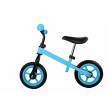 RideonToys4u Balance Bike With 12 Inch EVA Wheels and Footrest Red Ages 2-5