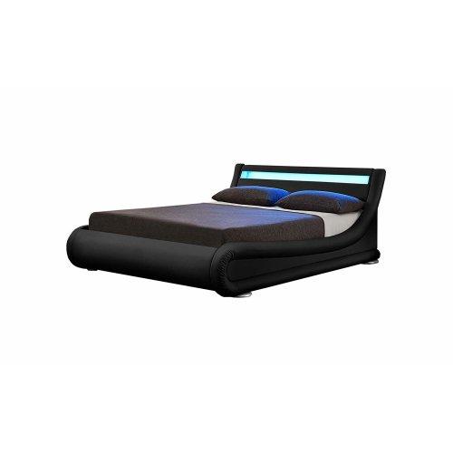 Rio LED Designer Ottoman Bed Frame