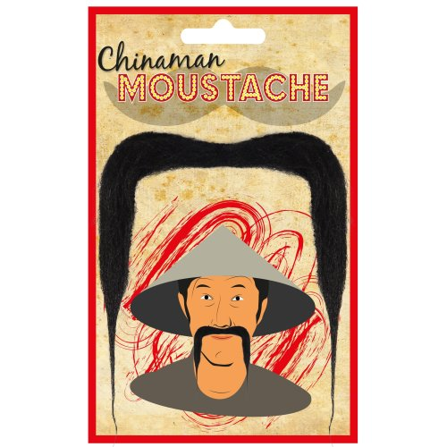 Chinaman Moustache (Carded)