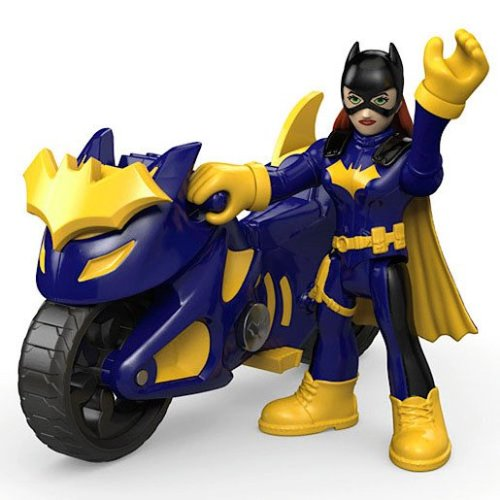 Fisher-price Imaginext Dc Super Friends -??batgirl with Batcycle
