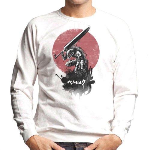 Beserk Red Sun Swordsman Men's Sweatshirt