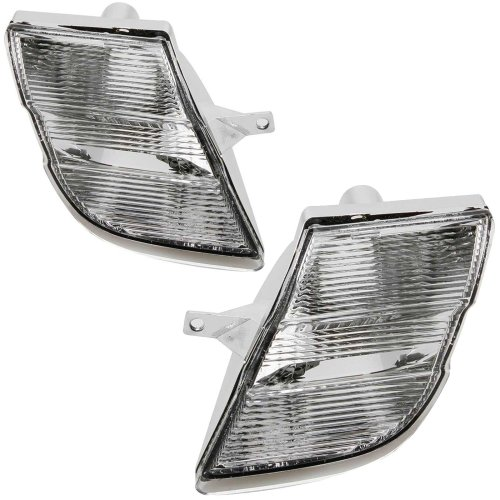Nissan Micra Mk4 K12 8/2006-2008 Front Indicators Clear 1 Pair O/s & N/s