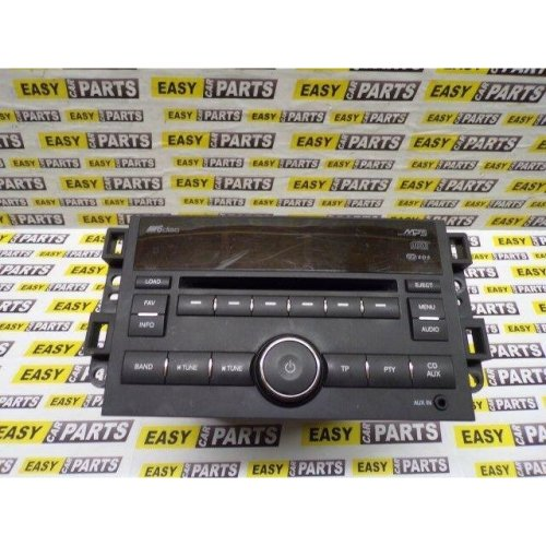 CHEVROLET CAPTIVA LTX RADIO / CD PLAYER P/N: 96647740
