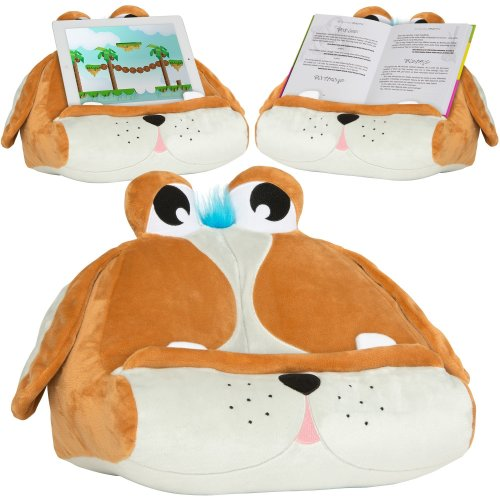 iPad Tablet Holder Stand for Kids - Childrens & Adults Fun Book Rest for Reading in Bed - Great Gift Idea