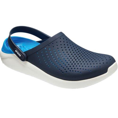 Crocs LiteRide Clog 204592-462 Mens Navy Blue slides Size: 8 UK
