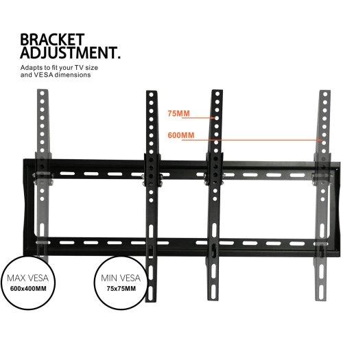 TV Bracket Wall Mount Slim 32 40 42 48 50 55 60 VESA 200 400 OLED LED LCD PLASMA
