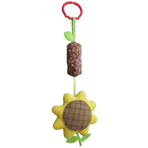 Baby Plush Hanging Toy, Sunflower, Stroller Soft Plush Toy