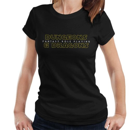Dungeons And Dragons Fantasy Role Playing Women's T-Shirt