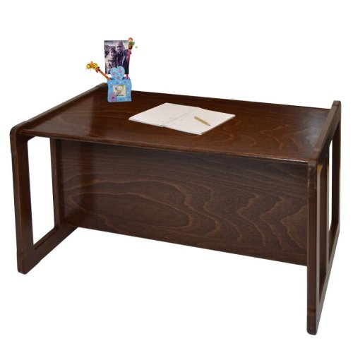 Obique Multifunctional Furniture 1 Large Table Beech Wood, Dark