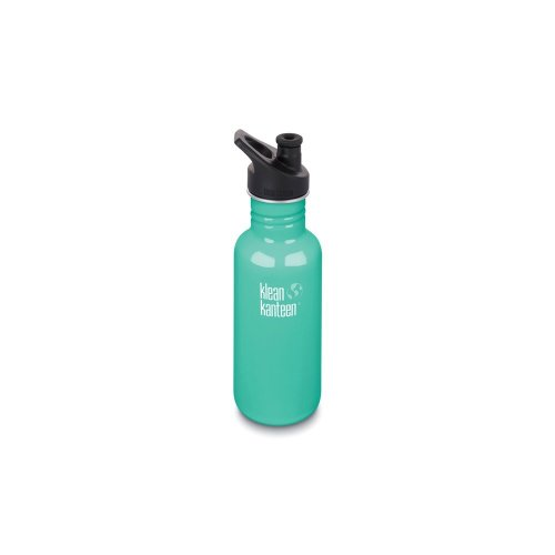 Klean Kanteen 532ml Water Bottle with Sport Cap (Sea Crest)