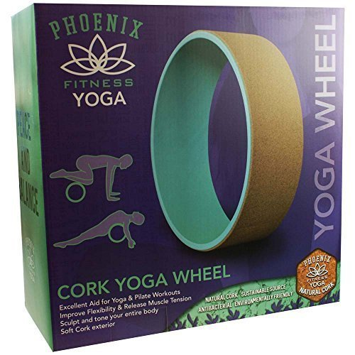 Cork Yoga Wheel -