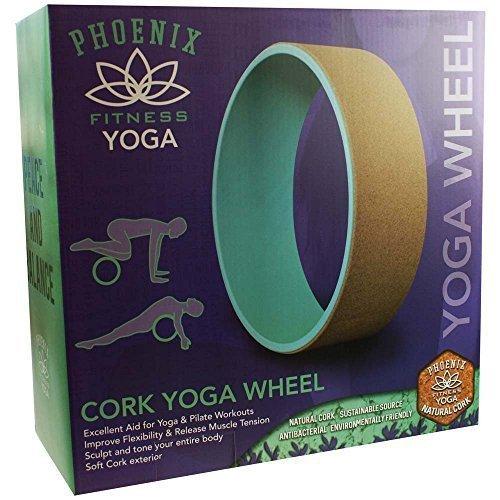 Cork Yoga Wheel -