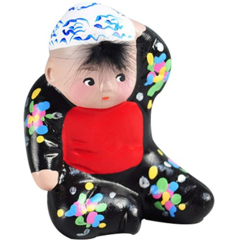 Personalized Toy Dolls Chinese Clay Doll Clay Ornaments