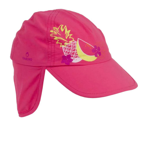 Unisex Kids Fedora Hat Bucket Hat, Lightweight Cap Sunhat Neck Protection Rose