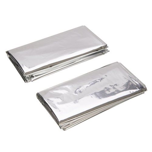 Silverline Emergency Blanket 1m x 2m - Foil Blankets 226306 First Aid -  emergency blanket x silverline 2m foil blankets 226306 first aid 1m