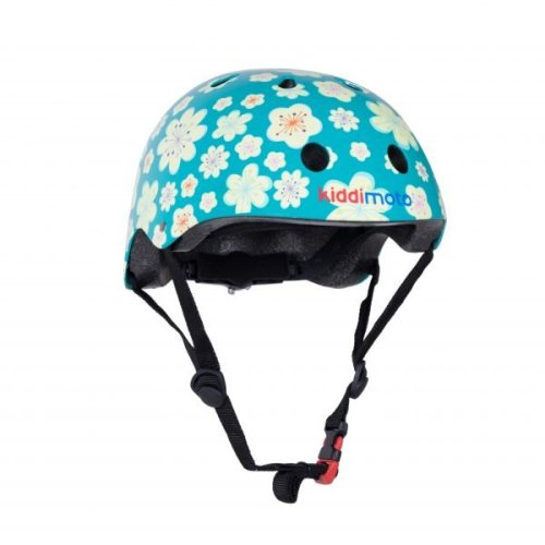 Kiddimoto Children's Bike / Scooter / Skateboarding Helmet - Fleur Design