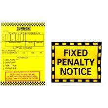 4pc Prank Parking Tickets Set | Joke Parking Tickets