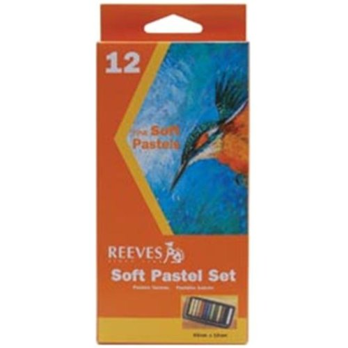 Reeves 416805 Soft Pastel Set 12-Pkg-Assorted Colors