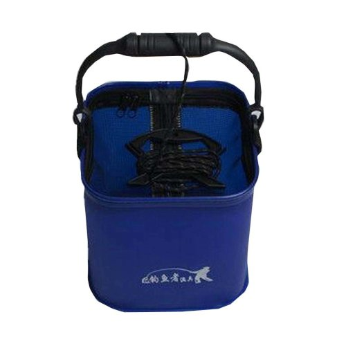 Blue Water Intaking Bucket Fishing/Camping Outdoor Accessory