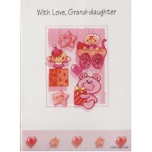 Happy Birthday With Love, Grand-daughter Greeting Card