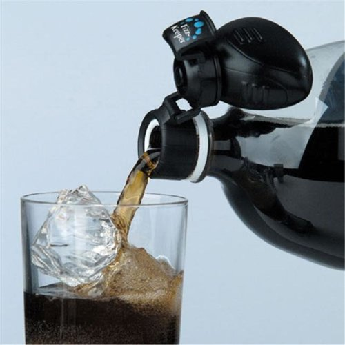 Jokari-US 5100 Fizz-Keeper Pump & Pour- black