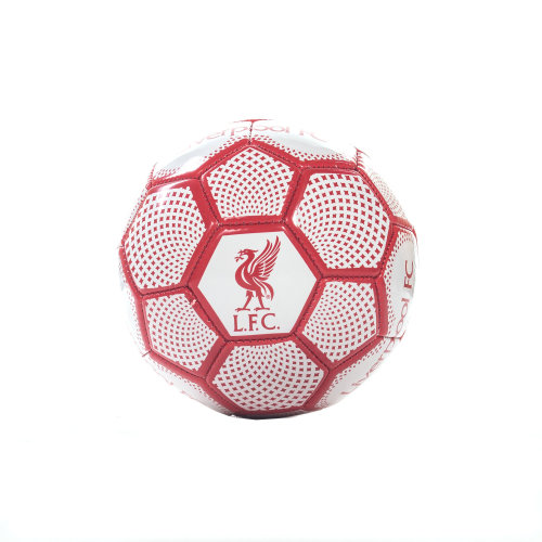 Liverpool FC Diamond Official Supporter Mini Football Soccer Ball White - Size 1