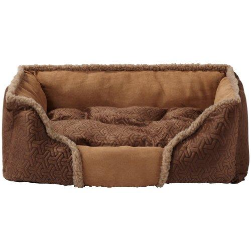 (X-Large, Brown) Bunty Kensington Dog Bed   Fleece Pet Bed