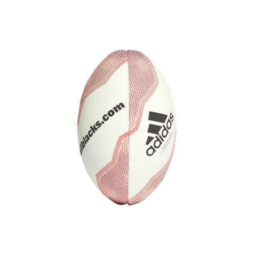 adidas New Zealand All Blacks Mini Rugby Union Rugby Ball Whte/Red
