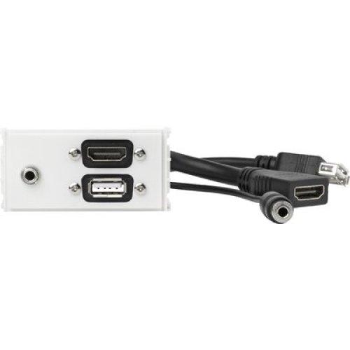 VivoLink WI221281 HDMI + USB A + 3.5mm