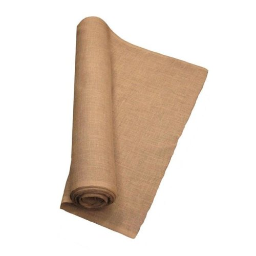 LA Linen 60IN-Burlap-50YardRoll 50 Yards Burlap Fabric, Natural - 60 in.