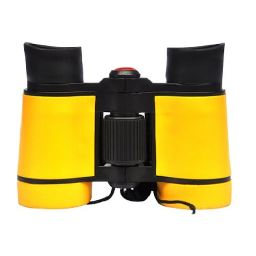 Children High Definition Telescope Binocular Mini Portable Telescope Toys Yellow