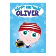 Birthday Card - Oliver