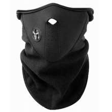 TRIXES Neoprene/Fleece Half Face/Neck Warmer for Skiing & Snowboarding
