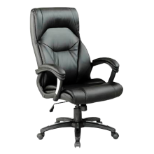 Wellington Medium Back Executive Office Chair With Silver Detailed Black Nylon Base by Eliza Tinsley BCP/T102/BK
