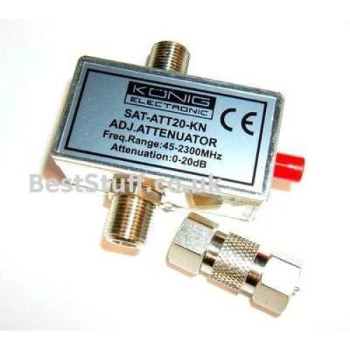 Konig Variable Satellite Attenuator