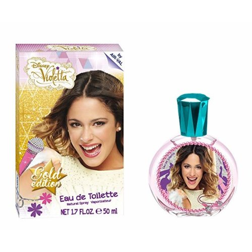Disney Violetta Eau De Toilette baby Gold edition 50ml