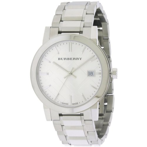 c3e8ea53a9a9 Burberry Large Check Stainless Steel Mens Watch BU9000 on OnBuy