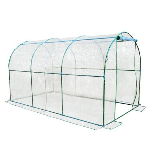 Outsunny Large Transparent PVC Walk-In Greenhouse