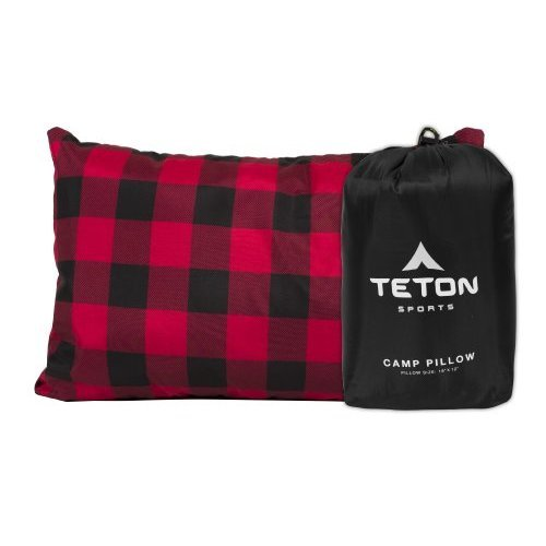 TETON Sports Camp Pillow Perfect for Camping and Travel Ultralight Pillow Black