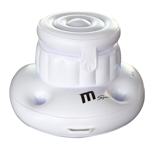Mspa Inflatable Ice Box, Floating Cooler and Cup Holder