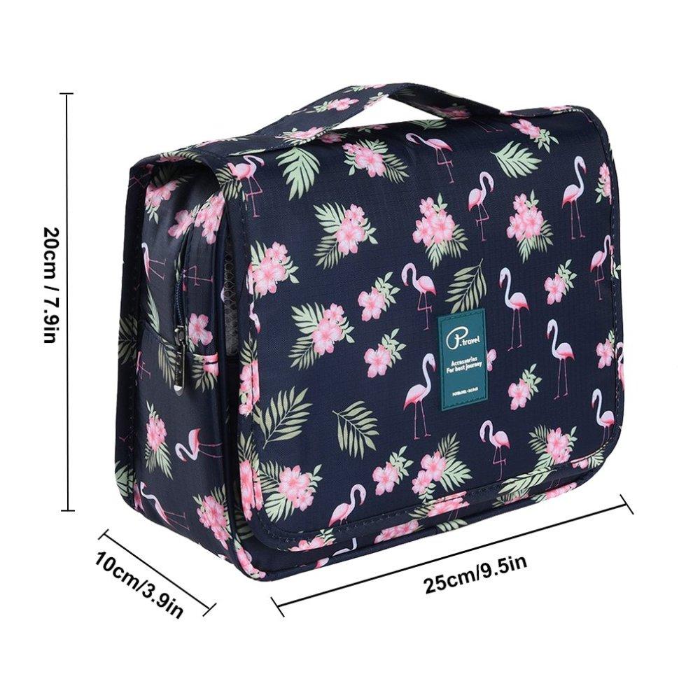 32d3e883391280 ... Homchen Hanging Travel Toiletry Bag, Waterproof Folding Portable Cosmetic  Bag, Wash Bag for Men ...