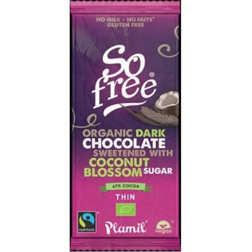 So Free Dark chocolate with coconut blossom
