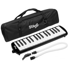 Stagg MELOSTA32BK Melodica Reed Keyboard - Black