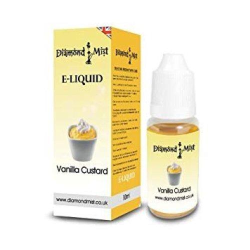 Diamond Mist 10 ml Vanilla Custard E-Liquid
